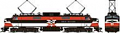 Rapido 84508 HO - EP-5 Electric Loco - DCC & Sound - New Haven, Repaint #372
