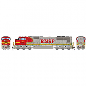 Athearn Genesis G70544 - HO SD75M Diesel, DCC Ready, BNSF/Warbonnet #8275