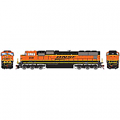 Athearn Genesis G70650 - HO SD75M Diesel, w/DCC & Sound, BNSF/Late Heritage #273