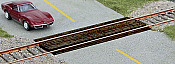 Walthers 4159 HO Scale Wood Grade Crossing 2 Pk