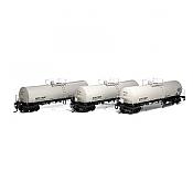 Athearn 16673 RTR HO - 16K Gallon Tank Car - ACFX #1 (3pk)