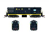 Rapido 044004 HO FM H16-44, Standard DC, Baltimore & Ohio Blue Scheme No.9743