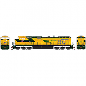 Athearn HO 77986 GE Dash 9-44CW, Chicago and North Western C&NW #8717 DCC Ready