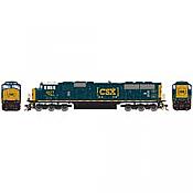 Athearn Genesis G64921 HO Scale - SD70MAC Diesel, w/ DCC & Sound - CSX #4577