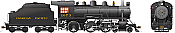 Rapido 602506 HO D10k Canadian Pacific #1073 DC/DCC/Sound Pre-Order coming 2020