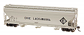 Intermountain Railway 47077-02 HO ACF 4650 Cubic Foot 3-Bay Hopper Erie Lackawanna EL #20112