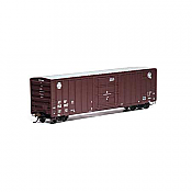 Athearn RTR 87455 - HO 50ft FMC Superior Plug Door Boxcar - SF/Quality #152007