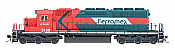 Intermountain Railway Diesel EMD SD40-2 DCC & Sound  Ferromex #3109