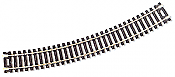 "Atlas Model Railroad Code 100 Curved Snap-Track Nickel-Silver Rail 18"" Radius"