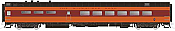 Rapido Trains 124028 HO Scale Pullman-Standard Lightweight Diner Milwaukee Road (Hiawatha) #120 Pre Order