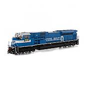 Athearn Genesis G27345 HO Scale - SD80MAC Diesel DCC/Sound - CSXT #808