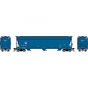 Athearn Genesis G15848 - HO ACF 4600 3-Bay Centerflow Hopper - The Andersons Inc. (AEX-Ex GTW) #389