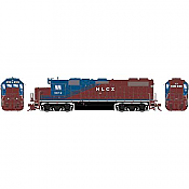 Athearn Genesis G71717 - HO GP38-2 - DCC Ready - Helm Leasing (HLCX) #3812