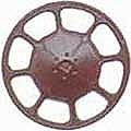 Kadee 2025 HO Modern Brake Wheel - Red