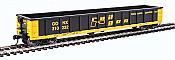 Walthers 6224 HO Scale - 53Ft Railgon Gondola - Ready To Run - Railgon GONX #310232