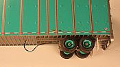 A-Line 50142 - HO Sliding Tandem Air Hose (1pc)