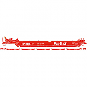 Athearn 98906 HO Maxi I Well Car - 40 Ft- 5 Car Set - Early - Southern Pacific 2431 Maxi Stack Logo