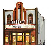 Woodland Scenics 5054 HO Built-&-Ready Landmark Assembled Structure - Theatre w/Lights