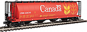 Walthers Mainline HO 7363 - 59 Ft Cylindrical Hopper - Canada CPWX #606701