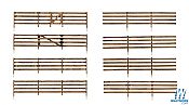 Woodland Scenics 3002 - O scale Rail Fence - Kit