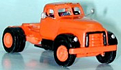 Sylvan Scale Models V005 HO Scale - Single-Axle Day Cab GMC 620 Tractor - Unpainted and Resin Cast Kit