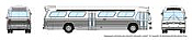 Rapido 573098 N - 1/160 New Look Bus - Generic White
