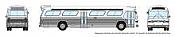 Rapido 573098 N - 1/160 New Look Bus - Generic White