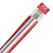 K&S Engineering 8292 All Scale - 5/8 inch OD Round Aluminum Tube - 0.029inch Thick x 12inch Long
