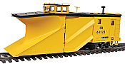 Walthers Proto 110010 HO Russell Snowplow - Ready to Run Conrail #64523