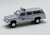 Trident Miniatures 90343 - HO Chevy Surburban - Emergency State Trooper - Kentucky State Police