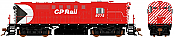 Rapido 32537 HO MLW RS-18 DRS-18b CP Rail (5 inch Stripes) DCC & Sound - 8779 Taking Orders Now