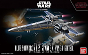Star Wars Blue Squadron Resistance X Wing Fighter Model Kit