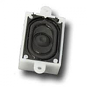 "ESU Loksound Loudspeaker 16mm x 25mm, .710"" X 1.065"" retangular, 4 Ohms, with sound chamber"