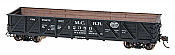 Intermountain Railway 46617-12 HO USRA Composite Drop-Bottom Gondola -Ready to Run- Michigan Central #12350