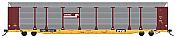 InterMountain 452104 - HO Bi-Level Auto Rack - Conrail/TTGX Flat Car #604132