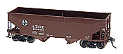 Intermountain Railway 47150-01 HO AAR Alternate Standard 2-Bay Hoppers ATSF 180801