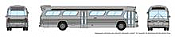 Rapido 573099 N - 1/160 New Look Bus - Generic Silver