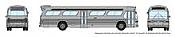 Rapido 573099 N - 1/160 New Look Bus - Generic Silver