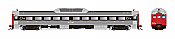 Rapido Trains 16711 - HO Budd RDC-1 - PH2 - DCC/Sound - Canadian National #6104