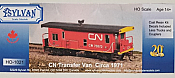 Sylvan Scale Models 1021 HO Scale - Circa 1971 CN Transfer Van - Unpainted and Resin Cast Kit