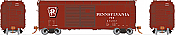 Rapido 123010-F HO Scale - PRR X31A Double-Door Boxcar: Shadow Keystone, Late - Single Car #69492