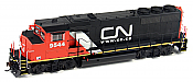 Athearn Genesis G40911 HO Scale GP40-2L, CN/Web Address #9591 DCC Ready 140-G40911