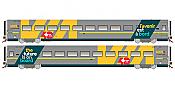 Rapido Trains 108057 HO LRC Coach - VIA40 Scheme #3366 - Pre-order