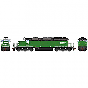 Athearn RTR 72122 HO Scale - SD40-2 - w/DCC & Sound - Burlington Northern #7817