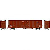 Athearn 75126 HO Scale - RTR 60Ft DD Hi-Cube Box - UP/Building America #1