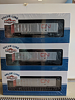 InterMountain Railway 4403004-A02 HO Value Line AiroFlo Coal Gondolas Canadian National CNA - 6 Car set