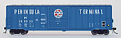 Intermountain Railway Branchline Trains Berwick Boxcars Peninsula Terminal PT#200005