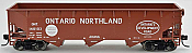 Bowser 42309 HO - RTR 70 Ton Offset Hopper - Ontario Northland #140138