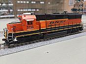 Athearn Genesis G65806 - HO GP50 (GP25) Phase II - DCC/Sound - BNSF Railway #3125