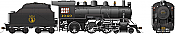 Rapido 602011 HO D10h Dominion Atlantic #1040 DC/Silent Pre-Order coming 2020